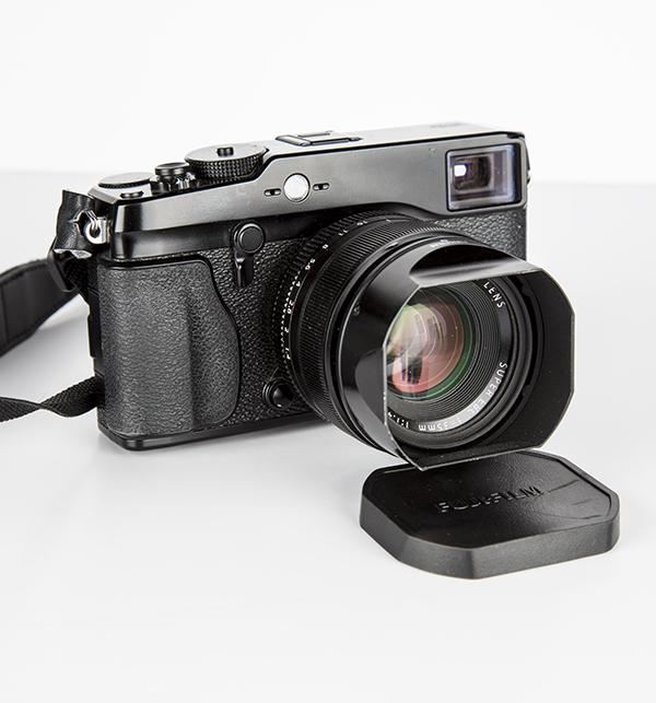 Fujifilm X-Pro1 monté avec un 35mm